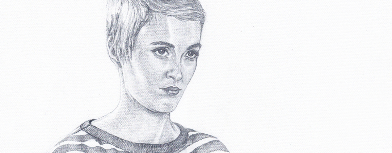 Jean Seberg illustration
