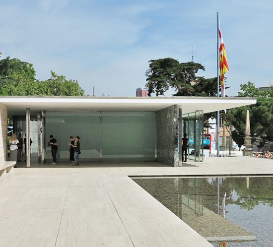 Mies van der Rohe Pavilion Barcelona