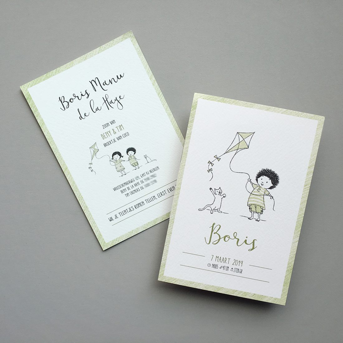 Morrie&Me-Birthannouncement-Boris