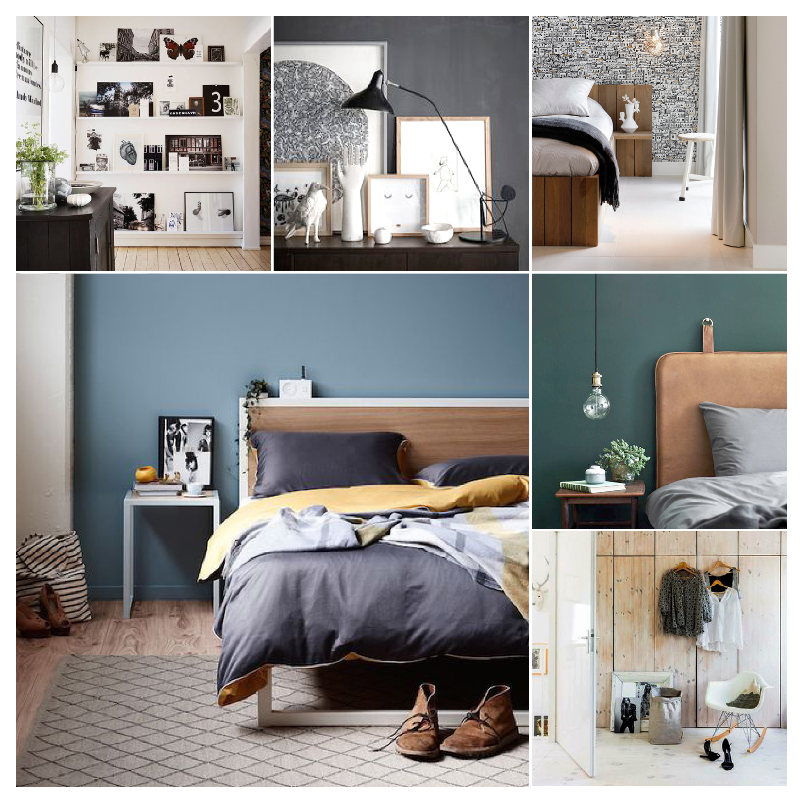 bedroom moodboard