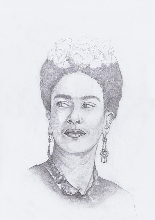 Morrie&Me Frida Kahlo