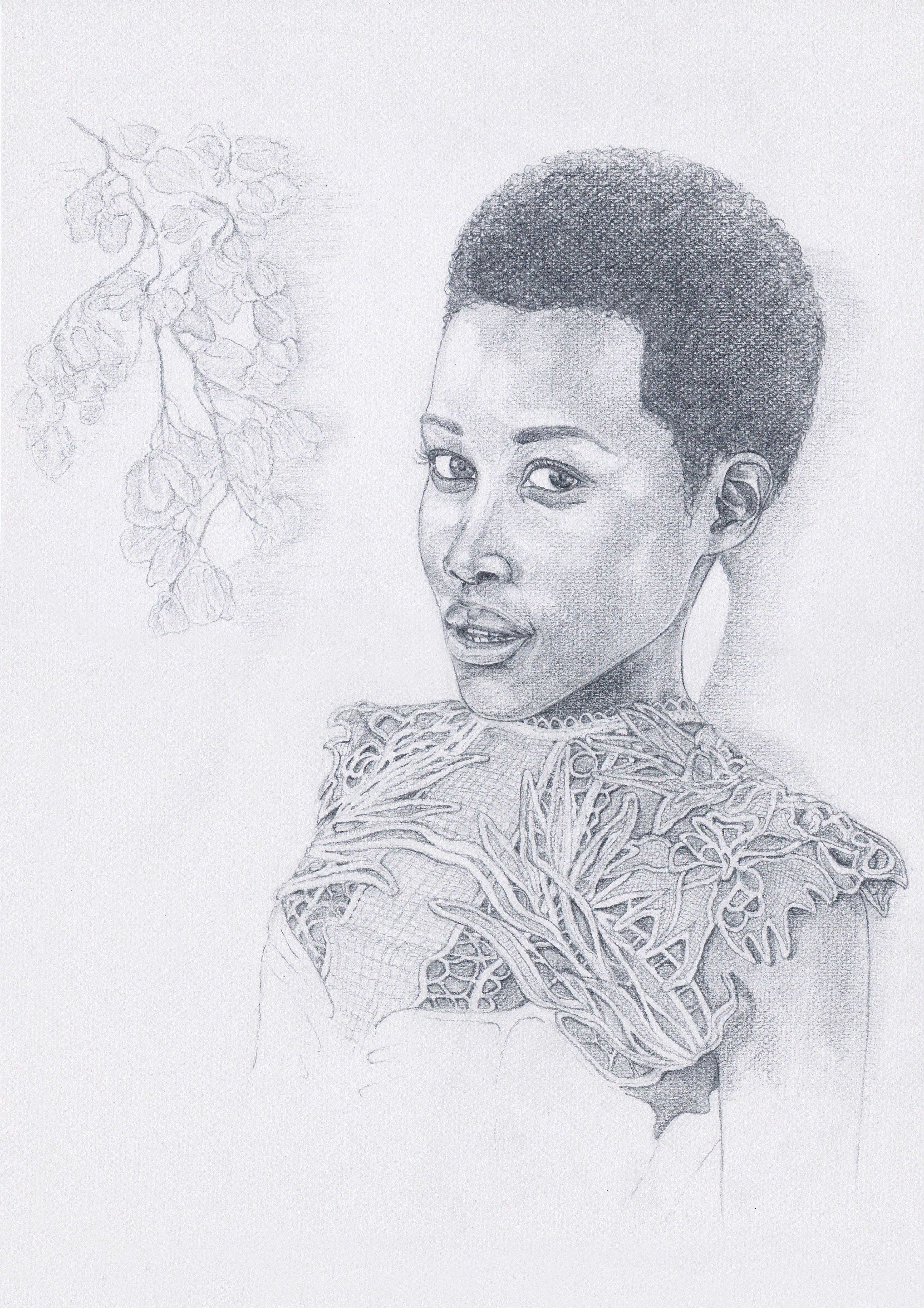 Lupita Nyong'o illustration